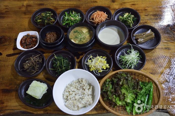 명동보리밥
