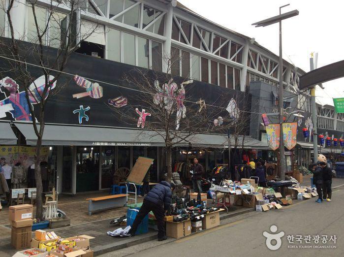 Marché aux puces de Séoul (서울 풍물시장)