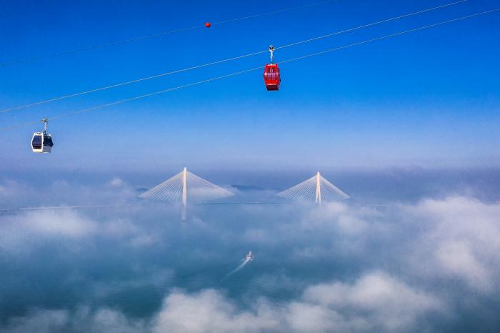 木浦海上缆车목포 해상케이블카