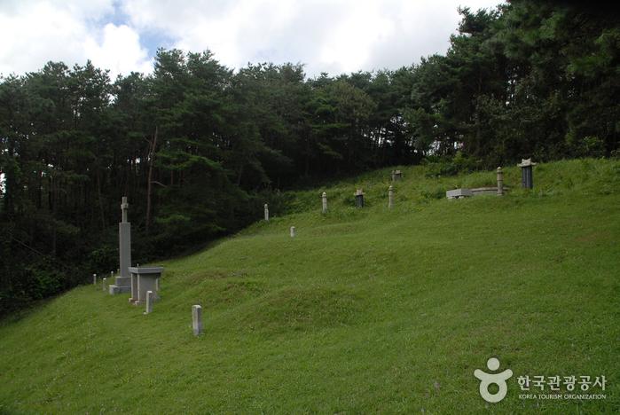 Heiliges Land von Julmudeom (청양 다락골 줄무덤 성지)