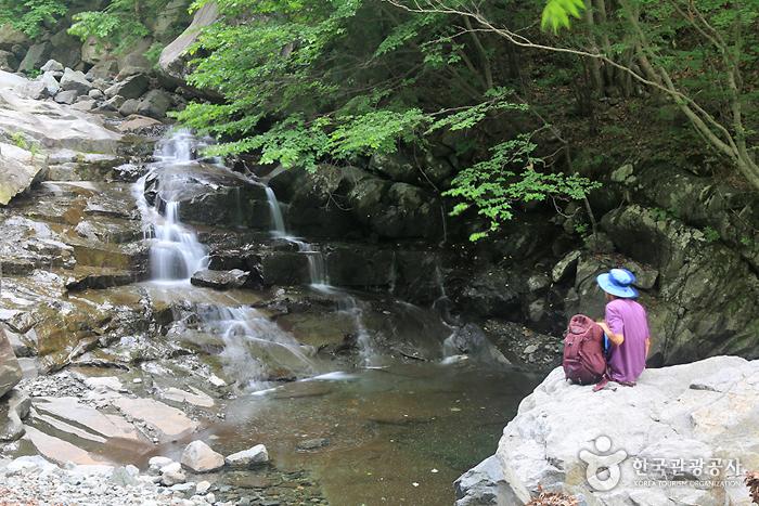 웅석계곡 사진1