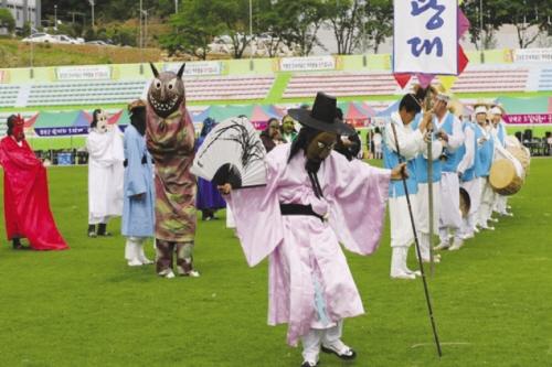 밤마리오광대탈춤축제 2015