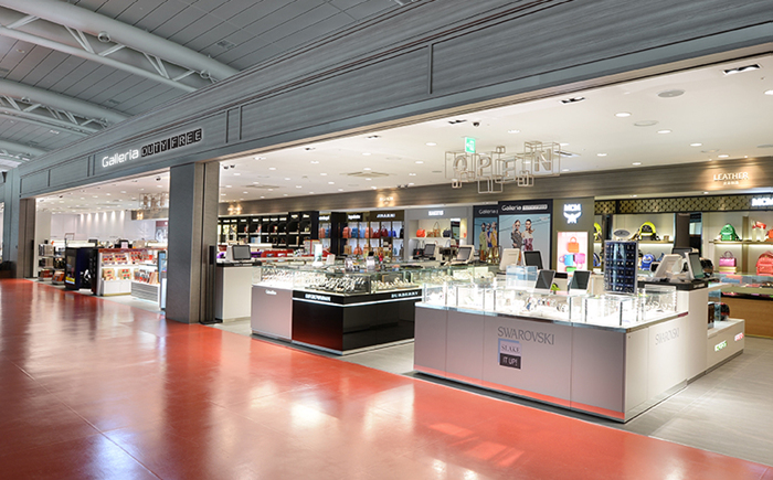 済州国際空港 ギャラリア免税店(제주국제공항 갤러리아 면세점)