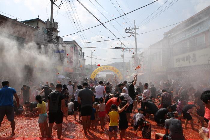 둔내고랭지토마토축제 2019