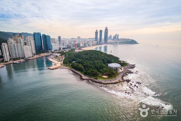 Остров Тонбэксом на Хэундэ (해운대 동백섬)34