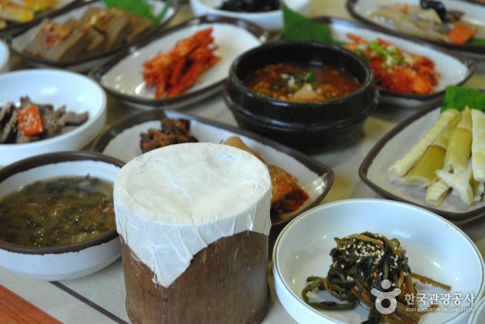 지리산대통밥