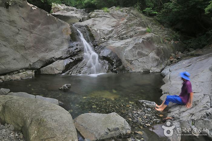 웅석계곡 사진2