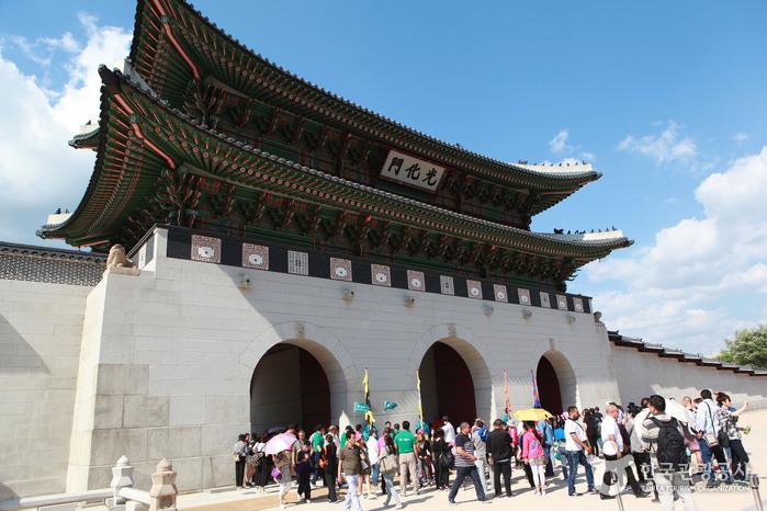 경복궁 정문 광화문
