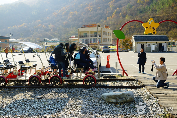 Ciclorraíl de Jeongseon (정선레일바이크)