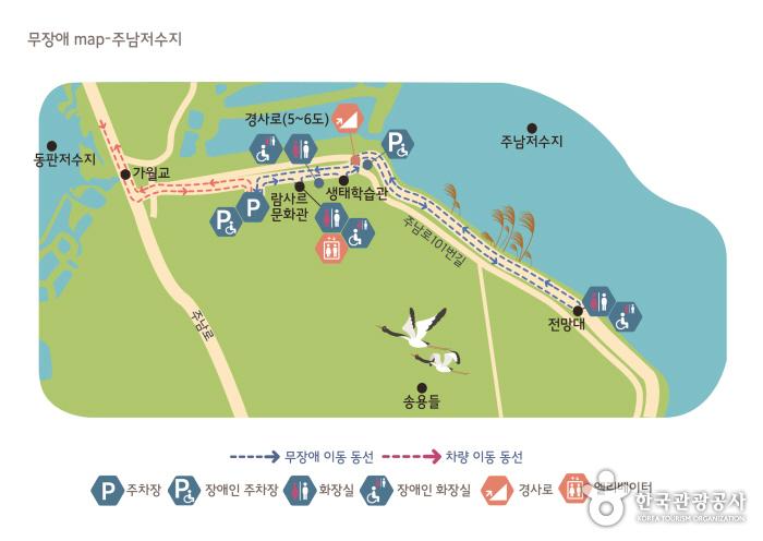 지도04. 주남저수지