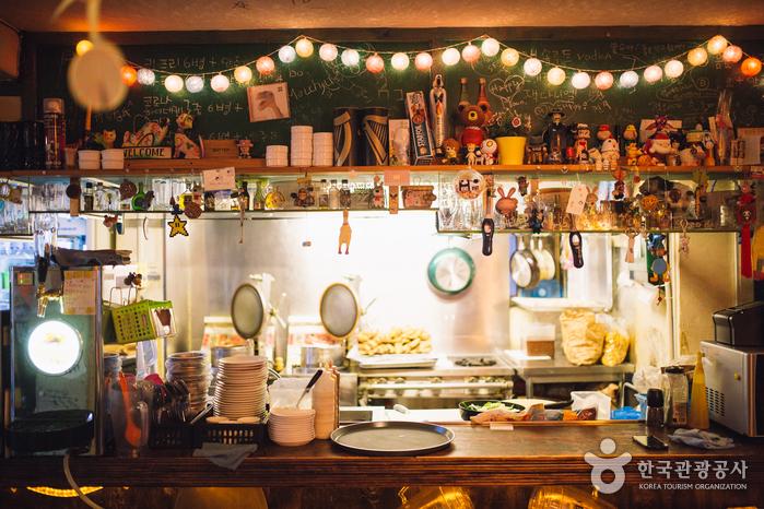 Ресторан Оксан Тальпит (옥상달빛)5