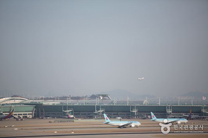 Aéroport International d'Incheon (인천국제공항)