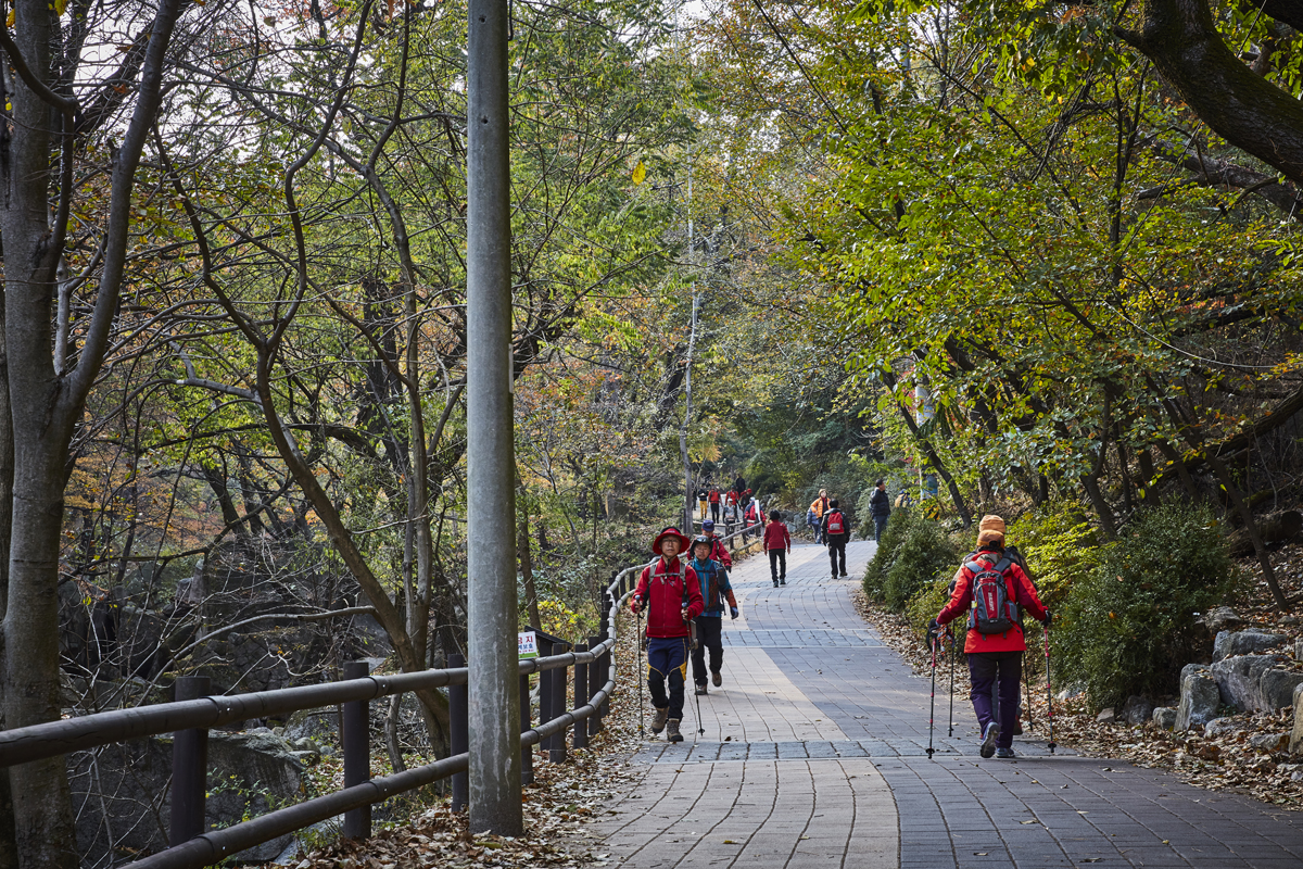 Bukhansan National Park (Seoul District) (북한산국립공원 (서울))