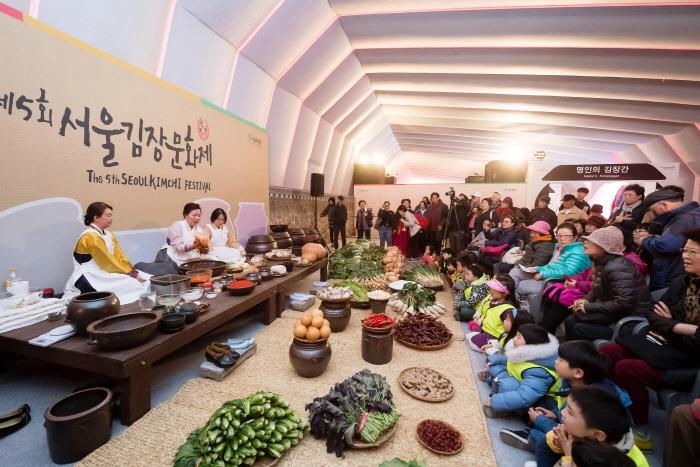 首爾越冬泡菜文化節(서울김장문화제)