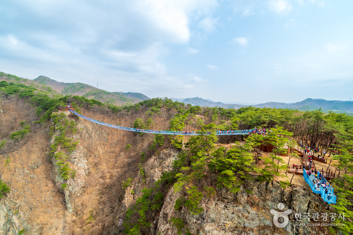 Wonju Sogeumsan Suspension Bridge (원주 소금산 출렁다리)