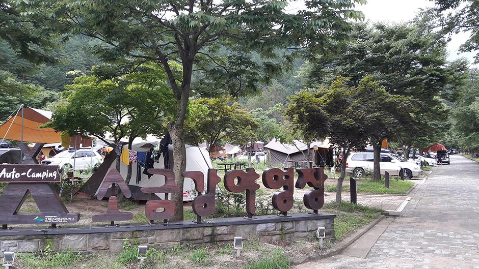 소금강오토캠프장