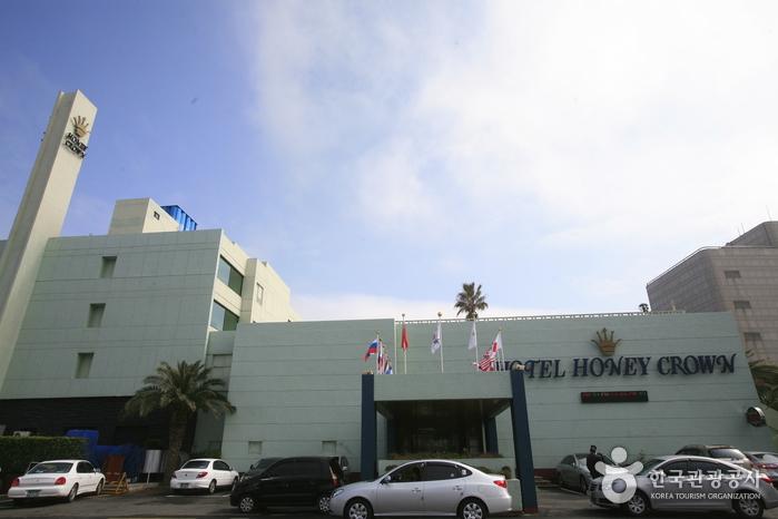 济州蜜月皇冠酒店<br>(호텔 하니크라운)