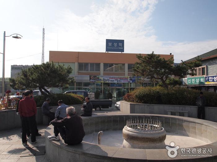 Bahnhof Boseong (보성역)