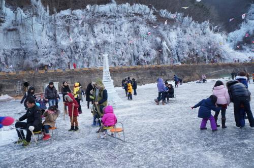 안동 암산얼음축제 2018 사진5