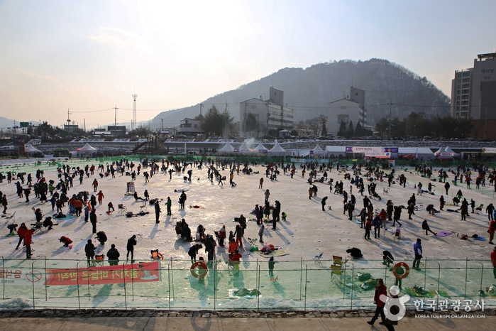 Festival del Sancheoneo de Hwacheon (얼음나라 화천산천어축제)14