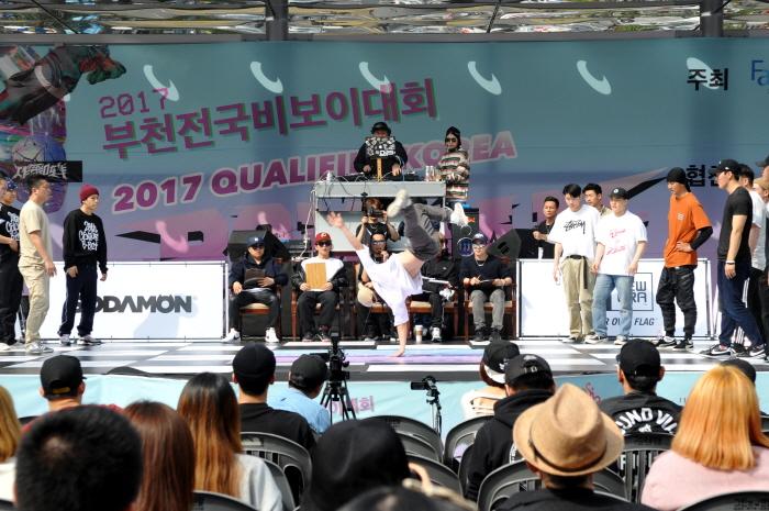 부천전국비보이대회 2018  사진