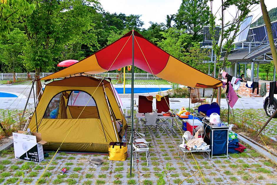 강변사리마을캠핑장