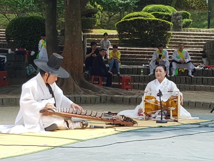 진주 무형문화재 토요상설공연 2018  사진5