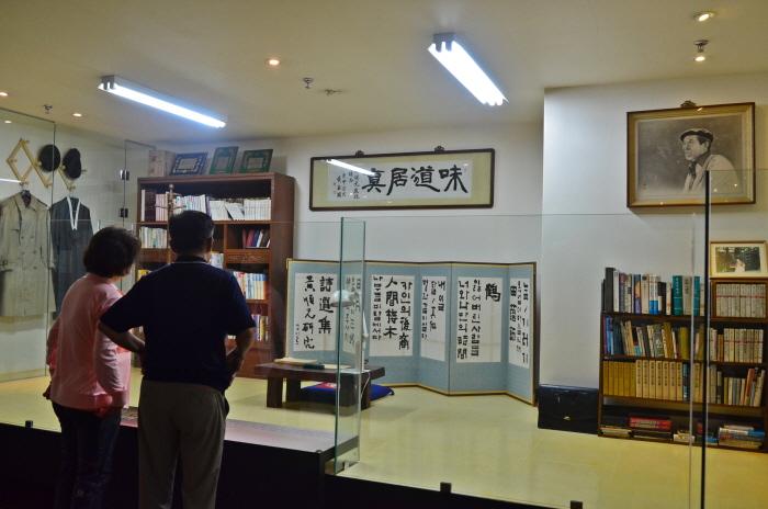 문학관 내 작업실