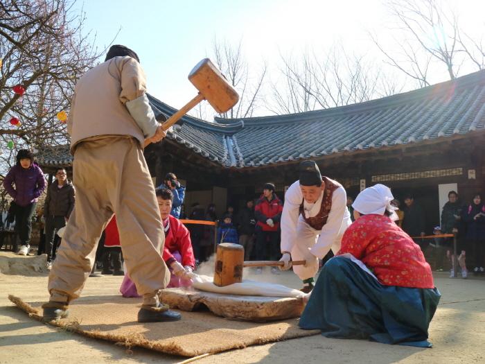 한국민속촌 설맞이 복잔치 2018