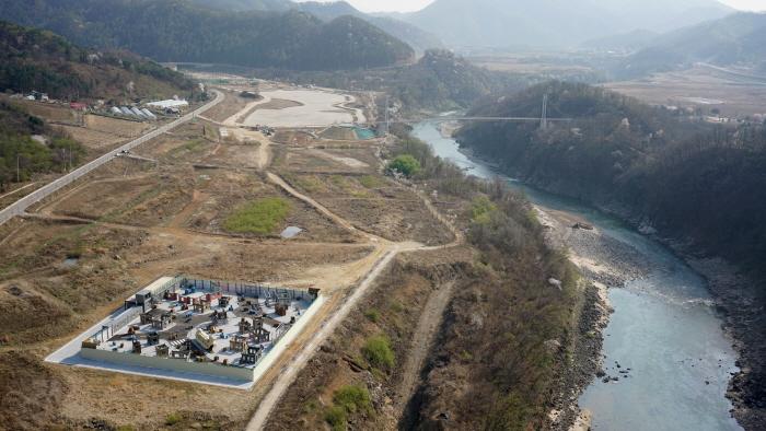 抱川漢灘江ハヌルタリ(포천 한탄강 하늘다리)