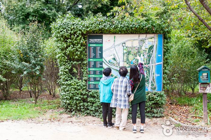 서울숲 안내도