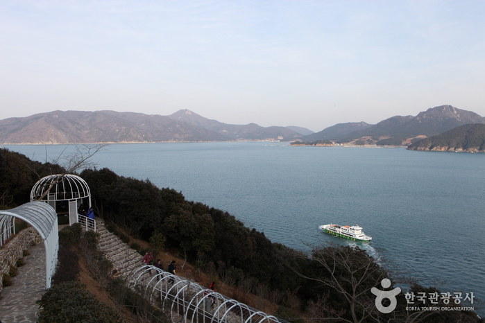 Морской парк Чансадо (장사도해상공원)36