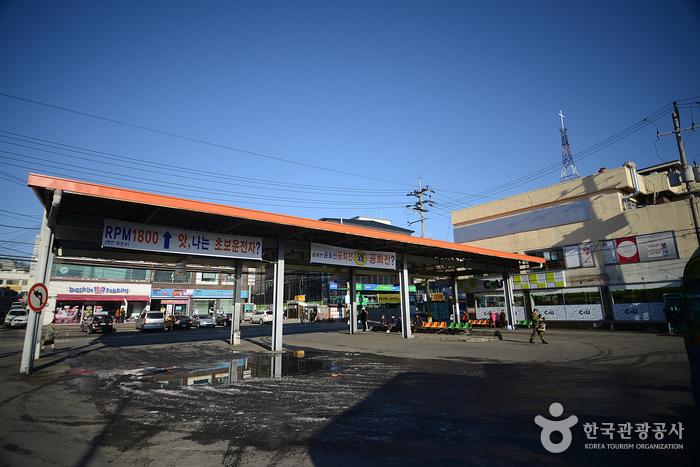 汶山市外バスターミナル(문산시외버스터미널)