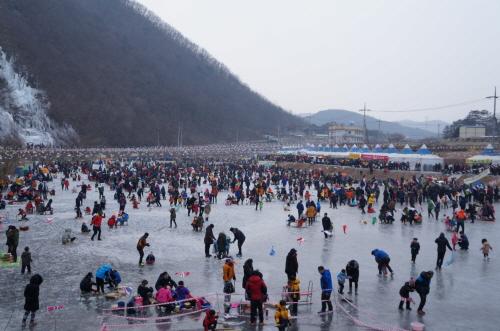안동 암산얼음축제 2018 사진2