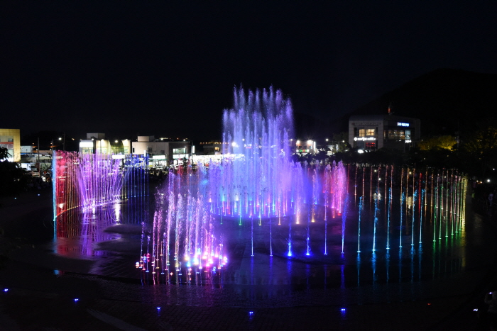 Dadaepo Sunset Fountain of Dreamㄴ (다대포 꿈의 낙조분수)