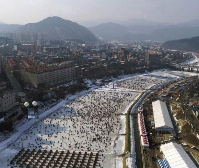 Festival Hivernal de Hongcheon-gang (홍천강 꽁꽁축제)