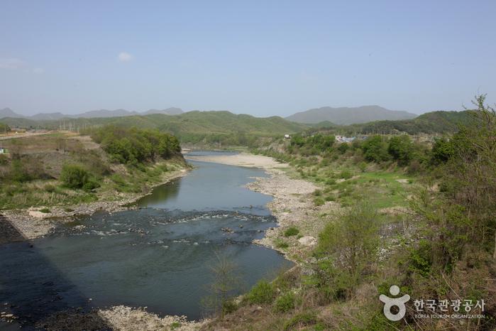 Река Хантханган (한탄강)2