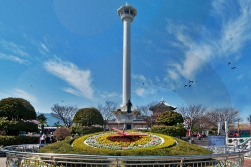 Yongdusan Park Busan...