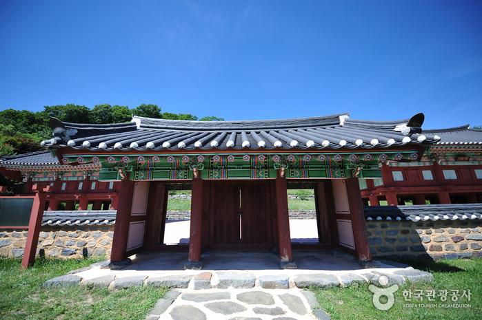 Архивное ведомство Чоксансан (적상산사고지)5
