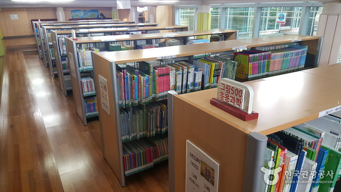 高陽市立 注葉子ども図書館(고양시립 주엽어린이도서관)