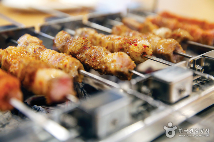 자양동 양꼬치거리 (중국음식문화거리)
