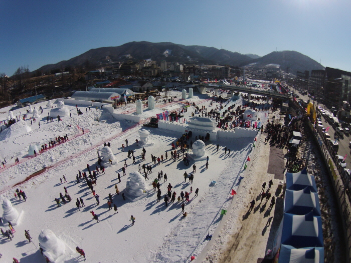 Daegwallyeong-Schnee...