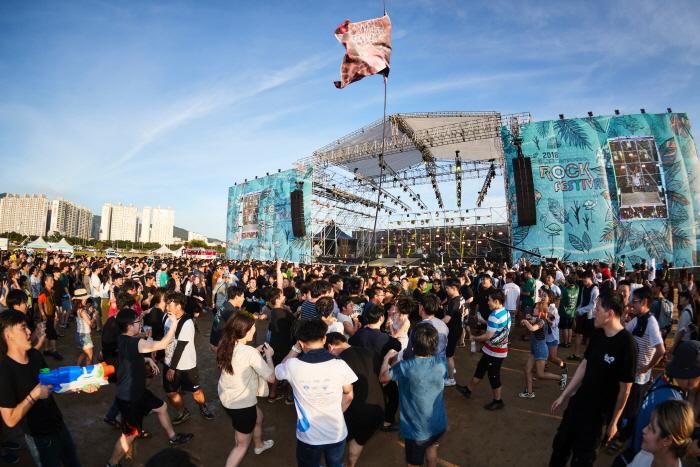 釜山国際ロックフェスティバル(부산국제록페스티벌)
