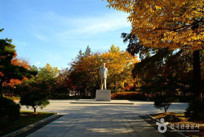 島山公園(도산공원)