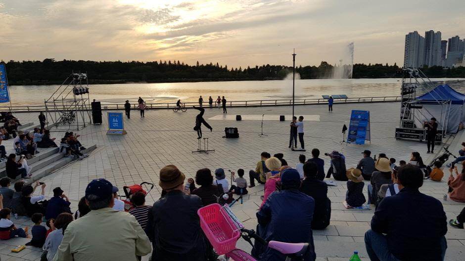 Фестиваль искусства в Кояне (고양호수예술축제)2