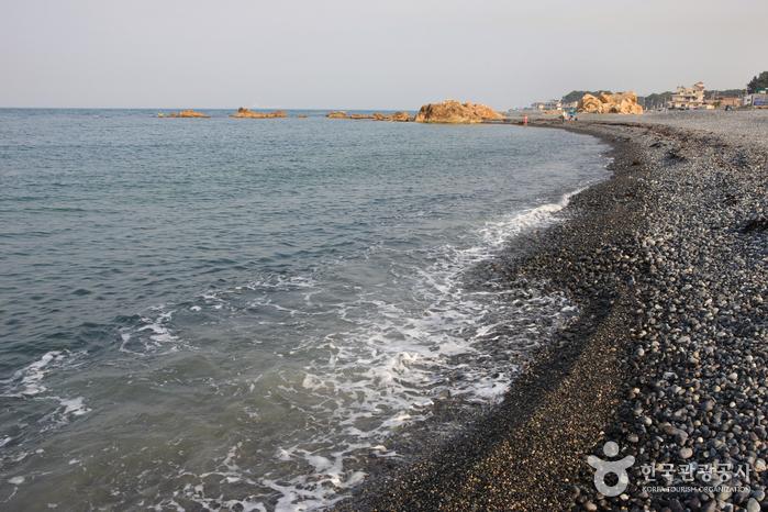 朱田鵝卵石海邊(주전몽돌해변)3