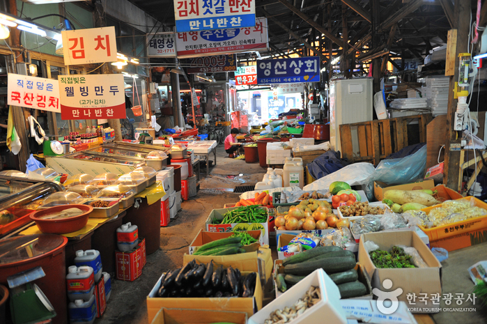 홍천 중앙시장 (1,6일)