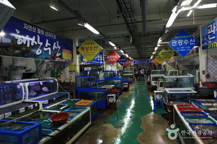 무창포 수산물시장