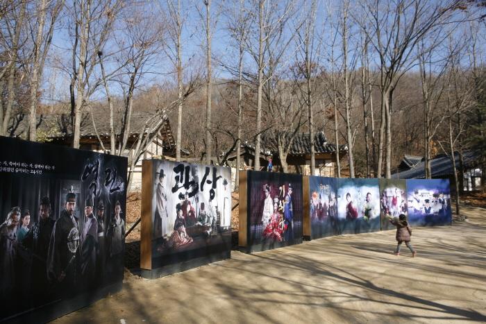 사극의 주요촬영지인 한국민속촌