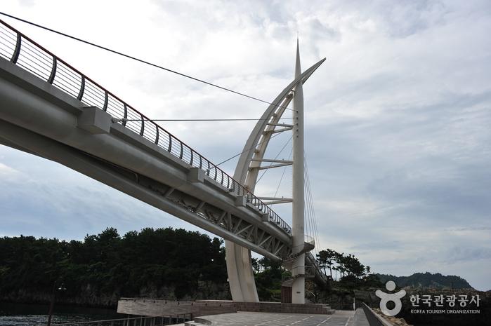 Pont Saeyeongyo de l'île Saeseom (새섬 새연교)